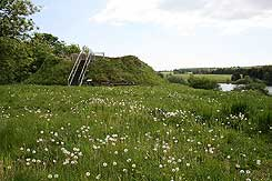 The tower, photo: Kroppedal Museum/Sites and Monuments, Danish Agency of Culture (2008)