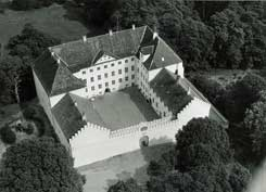Aerial view, photo: Hans Stiesdal (1968), The National Museum of Denmark