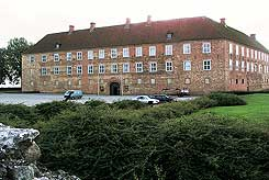 The  castle seen from the east, photo: The National Museum of Denmark (2005)