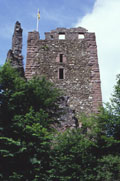 Bergfried, Foto: H. Wagner (2002)