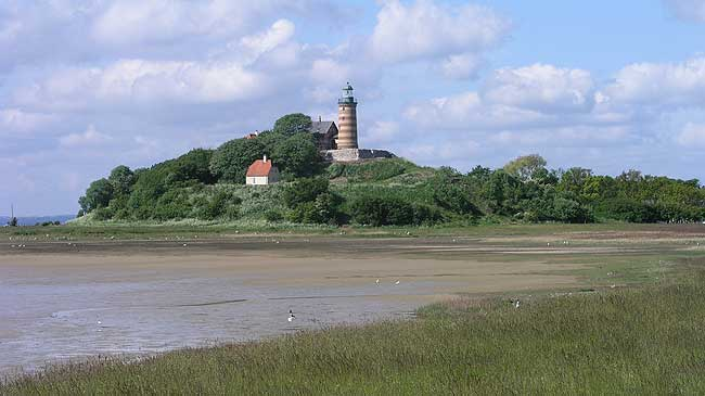 The castle mound from the north east, photo: The National Museum of Denmark (2008)